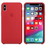 Apple Funda de silicona (PRODUCTO)RED Apple iPhone Xs Max