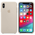 Apple Coque en silicone Gris Sable Apple iPhone Xs Max