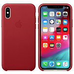 Apple funda en cuero (PRODUCT)RED Apple iPhone Xs