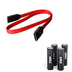 Câble SATA (50 cm) + 4 piles LDLC AA LR6 offertes !