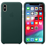 Apple C1183:C1203Carcasa de cuero Forest Green Apple iPhone Xs