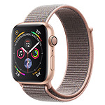 Apple Watch Serie 4 GPS Aluminio Aluminio Oro Hebilla deportiva Rosa 40 mm