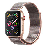 Apple Watch Series 4 GPS + Cellular Aluminium Or Boucle Sport Rose 44 mm