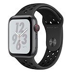 Apple Watch Nike+ Series 4 GPS + Cellular Aluminium Gris Sport Anthracite/Noir 44 mm