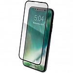 xqisit Tough Glass E2E Noir iPhone Xs Max