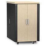 APC NetShelter CX 24U Cabinet - Madera