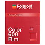 Polaroid Color 600 Película (marco rojo)