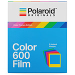 Polaroid Color 600 Film (cadres colorés)