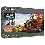 Microsoft Xbox One X (1 To) + Forza Horizon 4 + Forza Motorsport 7