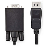 Nedis DisplayPort macho a VGA macho Cable macho (1 m)