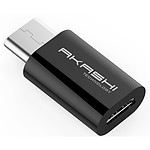 Akashi Adaptateur Micro USB vers USB Type-C