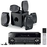 Yamaha MusicCast RX-A680 Noir + Focal Sib Evo 5.1.2 Dolby Atmos