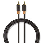 Nedis Cable de audio digital RCA - 1m