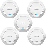 Linksys Cloud LAPAC1750C x 5