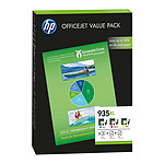 HP 935XL Office Cyan, Magenta, Jaune (F6U78AE)