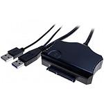 """Dexlan Adaptateur auto-alimenté USB 3.0 / SATA 3.5"""" - 2.5"""""""