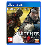 Dark Souls III + The Witcher III : Wild Hunt (PS4)