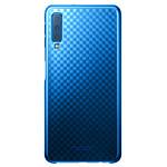 Samsung Gradation Clear Cover Azul Galaxy A7 2018
