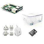 Raspberry Pi 3+ Starter Kit Transparent