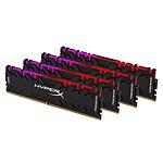 HyperX Predator RGB 32 Go (4x 8 Go) DDR4 3600 MHz CL17
