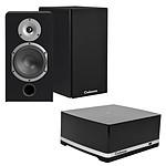 Cabasse Stream AMP 100 + Cabasse Antigua MT32 Black Satin