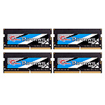 G.Skill RipJaws Series SO-DIMM 32GB (4 x 8GB) DDR4 2666 MHz CL19