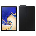 "Samsung Galaxy Tab S4 10.5"" SM-T830 64 Go Gris + Book Cover EF-BT830 Noir"