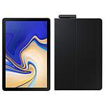 "Samsung Galaxy Tab S4 10.5"" SM-T835 64 Go Noir + Book Cover EF-BT830 Noir"