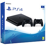 Sony PlayStation 4 Slim (1 To) + DualShock v2