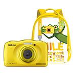 Nikon Coolpix W100 Jaune + Sac à dos
