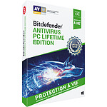 Bitdefender Antivirus PC Lifetime Edition 2019 - Licencia de por vida 1 usuario