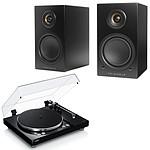 Yamaha MusicCast VINYL 500 Noir + Triangle Elara LN01A Noir Mat