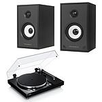 Yamaha MusicCast VINYL 500 Noir + Triangle Sensa SN01A Noir Mat