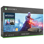Microsoft Xbox One X (1 To) Gold Rush + Battlefield V