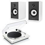Yamaha MusicCast VINYL 500 Blanc + Triangle Sensa SN03A Blanc Mat