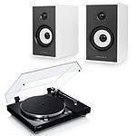 Yamaha MusicCast VINYL 500 Noir + Triangle Sensa SN03A Blanc Mat