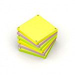 Oxford Spot Notes Blocs pense-bêtes assortis x 6