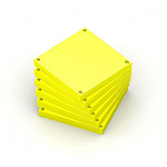 Oxford Spot Notes Blocs pense-bêtes jaune x 6