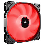 Corsair Air Series AF120 Low Noise - Rojo