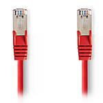 Nedis RJ45 categoría de cable 5e SF/UTP 5 m (Rojo)