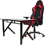 AKRacing Gaming Setup SX (rouge)