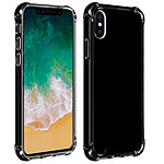 Akashi TPU Shell Ángulos reforzados Negra Apple iPhone Xs Max