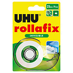 UHU Rollafix Dévidoir + Ruban Invisible - 25 m