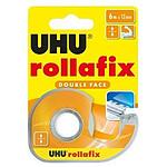UHU Rollafix Dévidoir + Ruban Double Face - 6 m