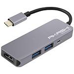 Akashi Hub USB Type-C 4-en-1