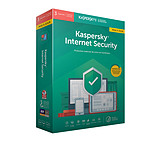 Kaspersky Internet Security 2019 Update - 3 licencias de estaciones de trabajo por 1 año