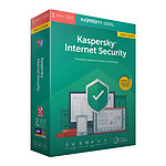 Kaspersky Internet Security 2019 Mise à jour - Licence 1 poste 1 an