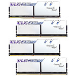 G.Skill Trident Z Royal 32 Go (4x 8 Go) DDR4 3000 MHz CL16 - Argent