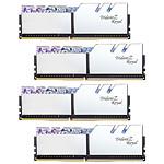 G.Skill Trident Z Royal 32GB (4 x 8GB) DDR4 3200 MHz CL16 - Plata