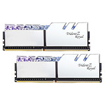 G.Skill Trident Z Royal 16 Go (2 x 8 Go) DDR4 4000 MHz CL17 - Argent